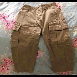 Boys size 4 Lacoste cargo pants